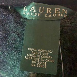 Lauren Ralph Lauren Jackets & Coats - Plaid Ralph Lauren Sweater Poncho